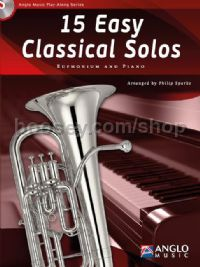 15 Easy Classical Solos - Euphonium (Book & CD)