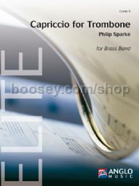 Capriccio for Trombone - Brass Band Score