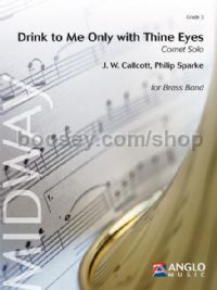 Drink to Me Only with Thine Eyes - Brass Band Score