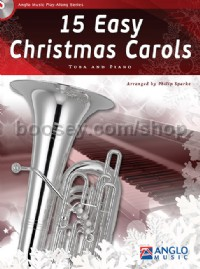 15 Easy Christmas Carols - Tuba & Piano (Book & CD)
