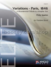 Variations - Paris 1846 (Score & Parts)