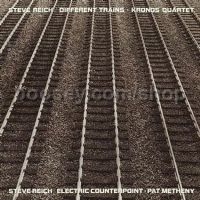 Different Trains / Electric Counterpoint (Nonesuch Audio CD)