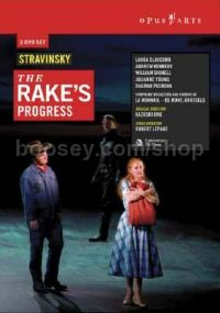 Rake's Progress Robert Lepage Production 2007 (Opus Arte DVD)