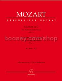 Horn Concerto No.1 in D Major, K. 412/514 (Piano Reduction)