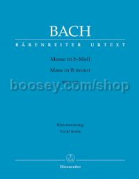 Mass B minor Bwv 232 (Latin Vocal Score Revised)