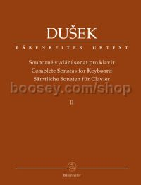 Complete Sonatas for Keyboard (Volume 2)