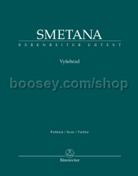 Vysehrad from Ma vlast (My County) (Full Score, paperback)