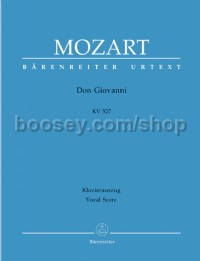 Don Giovanni (K.527) (Vocal Score, hardback)