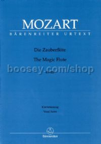 Die Zauberflote 'The Magic Flute' (Vocal Score)