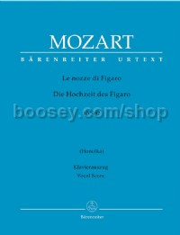 Marriage of Figaro (complete opera) (It) (K492) (Urtext)  - Vocal Score Paperback