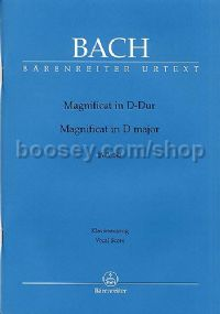 Magnificat in D Major (Vocal Score)