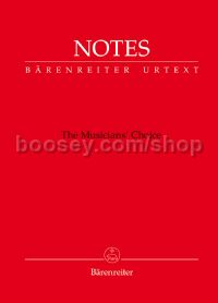 Notes (Manuscript & Notebook with a red cover)