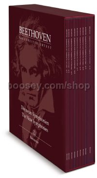 The Nine Symphonies (Conducting Scores, Box Set)