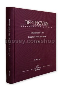 Symphony no. 9 in D minor op. 125 (Full Score Linen-Bound Special Edition)