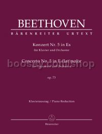 Concerto No. 5 for in Eb major for Pianoforte and Orchestra, op. 73 - piano solo & reduction