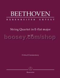 String Quartet E-flat major op. 127 (Critical Commentary)