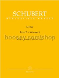 Lieder, Volume 3 (Medium Voice)