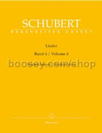 Lieder, Volume 4 (Medium Voice)