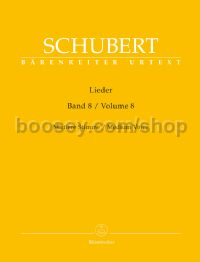 Lieder, Volume 8 (Medium Voice)