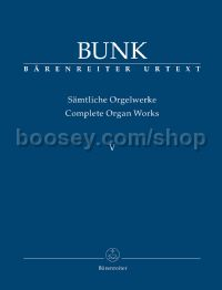 Complete Organ Works, Volume V
