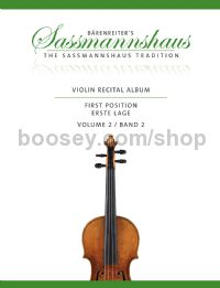 Violin Recital Album, First Position, Vol. 2
