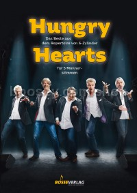 Hungry Hearts - 5 Mens Voices (Vocal Score)