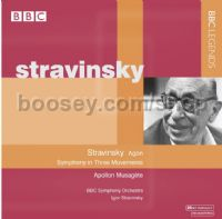 Stravinsky conducts Stravinsky (BBC Legends Audio CD)