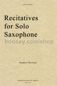 Recitatives for Solo Saxophone
