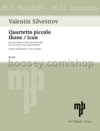 Quartetto piccolo - Icon - string quartet (score & parts)