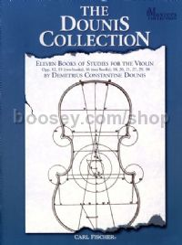 Collection: 11 books of studies (violin)