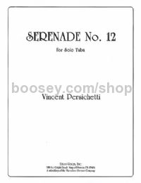 Serenade No. 12 for Solo Tuba, Op. 88 (bass clef)