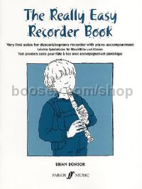The Really Easy Recorder Book (Recorder & Piano)