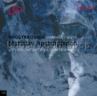 "Symphony No.11 in G minor Op 103 ""The year 1905"" (LSO LIVE Audio CD)"