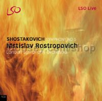 Symphony No.5 in D minor Op 47 (LSO LIVE Audio CD)
