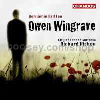 Owen Wingrave Op. 85 (Chandos Audio CD)