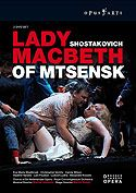 Lady Macbeth of the Mtsensk District Op 29 (Opus Arte Blu-Ray 2-CD set)