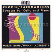 Sonatas for Cello & Piano (Ondine Audio CD)
