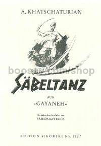 "Sabre Dance from the ballet ""Gajaneh"" (Accordion)"
