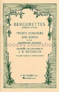 Bergerettes: 20 Romances & Songs
