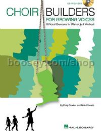 Choir Builders for Growing Voices (Book & CD)