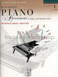 Accelerated Piano Adventures for the Older Beginner: Lesson Book (level 1)