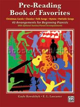 Pre Reading Book Of Favorites (piano)