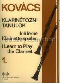 I Learn To Play The Clarinet vol.1