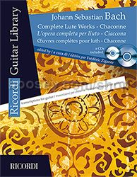 Complete Lute Works - Chaconne (Guitar) (Book & CD)