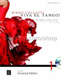 Viva El Tango - Piano Tutor (Bk & CD) English/Spanish