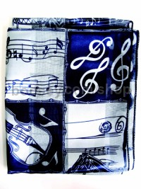 Ladies Scarf - Elegant Blue
