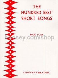 100 Best Short Songs Book 4 Cont/bar/bass