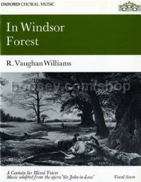 In Windsor Forest (vocal score) SATB