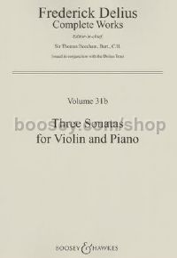 3 Sonatas for Violin & Piano