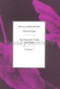 Ten Pieces for Violin, Vol. 1